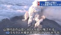 【噴火】弥陀ヶ原で強い硫黄臭!噴気活動が活発化