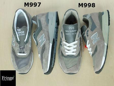 New Balance 997 998 Forskjell pGbiz