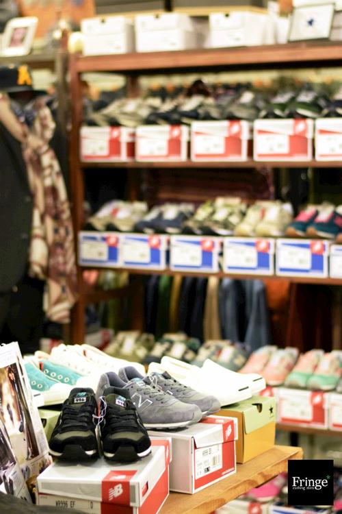Fringe clothing-store