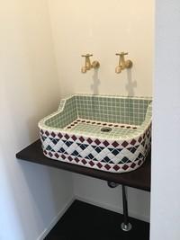 オリジナル洗面器