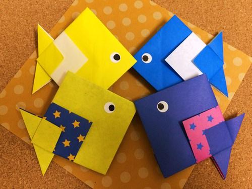 クリスマス 折り紙 魚 折り紙 : origami.i-ra.jp