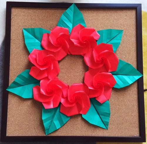 クリスマス 折り紙 クリスマス 折り紙 リース : origami.i-ra.jp