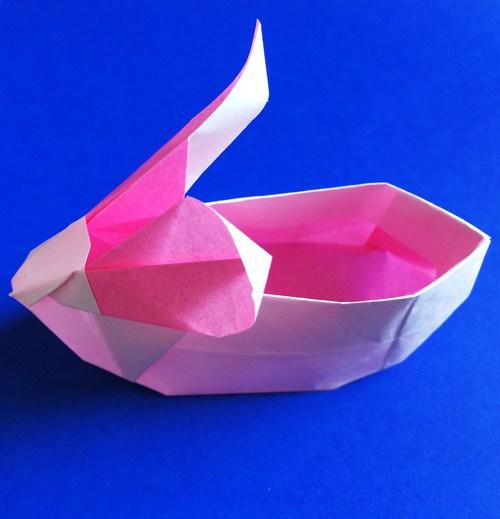 簡単 折り紙:ウサギ 折り紙-origami.i-ra.jp