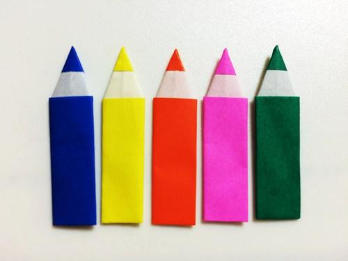 ハート 折り紙 折り紙 えんぴつ : origami.i-ra.jp
