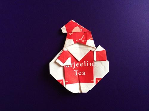 ハート 折り紙 サンタクロース折り紙折り方 : origami.i-ra.jp