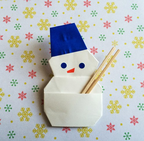 クリスマス 折り紙 折り紙 雪だるま : origami.i-ra.jp