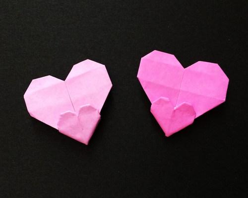 ハート 折り紙 ハート 折り紙 手紙 : divulgando.net