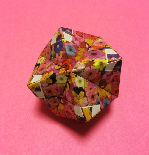 簡単 折り紙 : 折り紙 くす玉 ユニット : origami.i-ra.jp