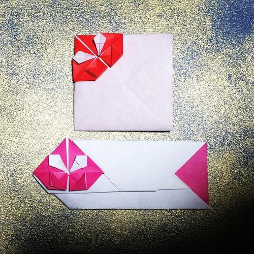 クリスマス 折り紙 ポチ袋 折り紙 : origami.i-ra.jp