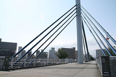 狩野川遊歩道 あゆみ橋