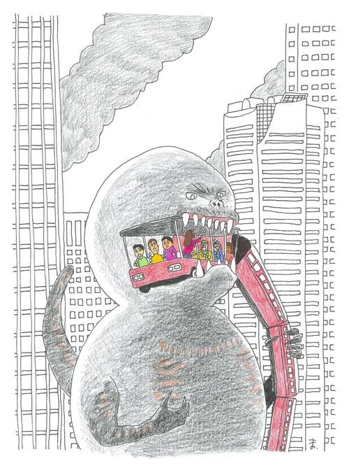 #だんごジラ#シンゴジラ#ゴジラ#東平屋スタジオジャパン