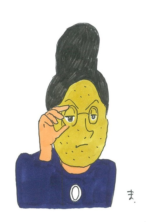 #アルプスの少女ハイジ#アルプスの侍平次#銭形平次#コロッケンマイヤー#ロッテンマイヤー