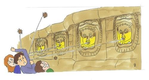 #ニンジンジョーンズ#くりごはんスカルの魔宮#インディジョーンズ#クリスタルスカルの魔宮