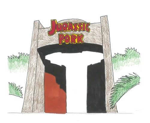 #ジュラシックポーク#ジュラシックパーク#東平屋スタジオジャパン