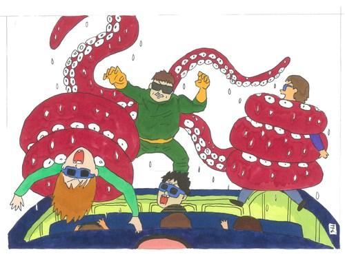 #スッパイダーマン#スパイダーマン#オクトパス博士#ドクターオクトパス#東平屋スタジオジャパン