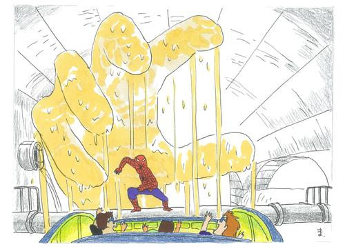 #スッパイダーマン#スパイダーマン#東平屋スタジオジャパン